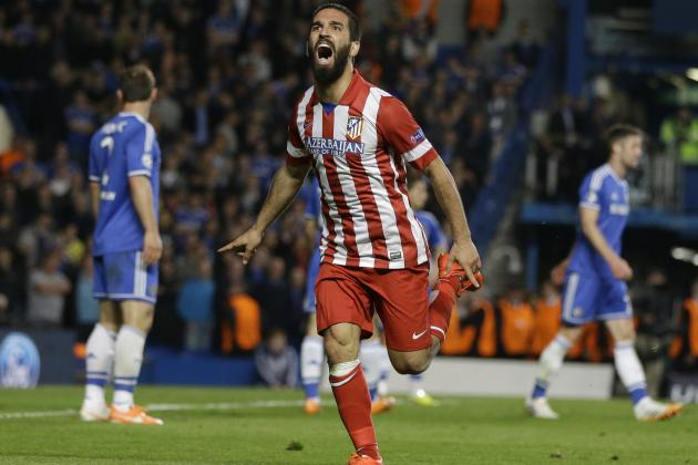 Champions League Results 2014: Atletico Madrid Surge to Final with Real Madrid