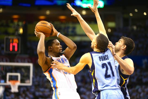 How Memphis Grizzlies' Defense Is Shutting Down Kevin Durant