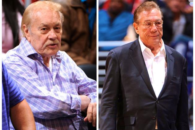Lakers Insider: How Jerry Buss Put Donald Sterling in the NBA, and Vice Versa