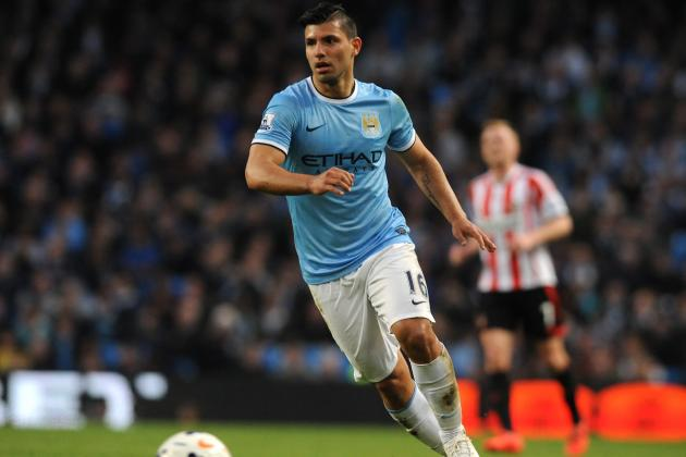 Why Sergio Aguero Must Be Manchester City's Most Valuable Player vs. Everton