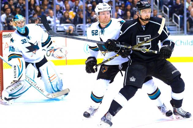 Los Angeles Kings vs. San Jose Sharks Game 7: Live Score and Highlights