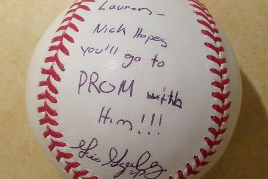 Gio Gonzalez Features In Epic High School Prom Proposal Bleacher