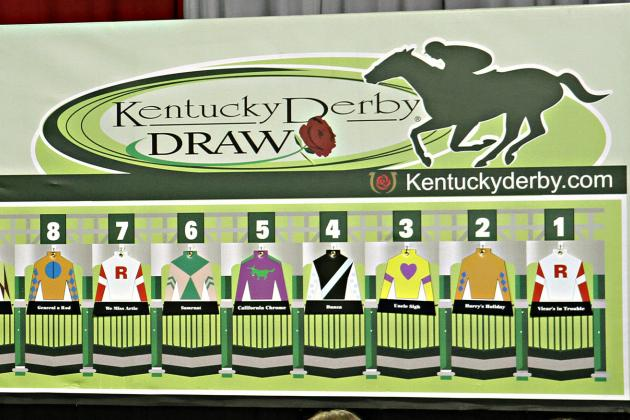 2014 Kentucky Derby: Post Positions and Odds for Horse Entries in 140th Race