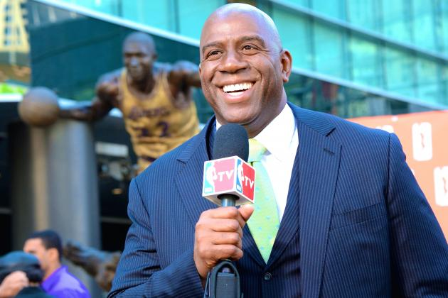 Magic Johnson Tweets He 'Couldn't Be Happier' About Mike D'Antoni's Resignation