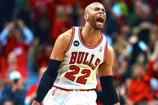 Taj Gibson Seemingly Upset with Jamal Crawford's Sixth Man of the Year Award Win