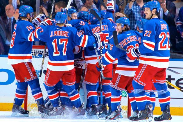 Rangers Step Up to Survive Flyers, Must Keep Improving in Round 2 vs. Penguins