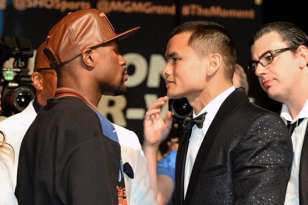 Mayweather vs. Maidana Press Conference: Live Updates and Results from Pre-Fight