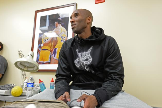 What Will Kobe Bryant's 2014 Summer of Rehab Look Like?