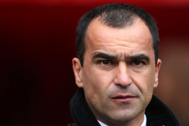 Roberto Martinez Not Interested in Doing Liverpool a Favour vs. Manchester City