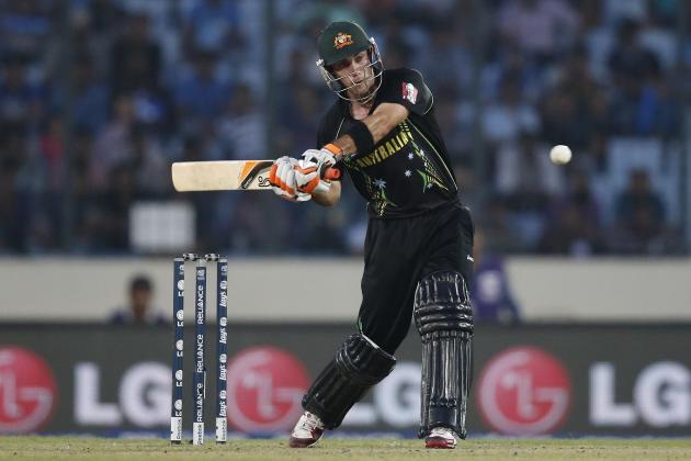 Glenn Maxwell: World Cricket's Batsman of the Month, April 2014