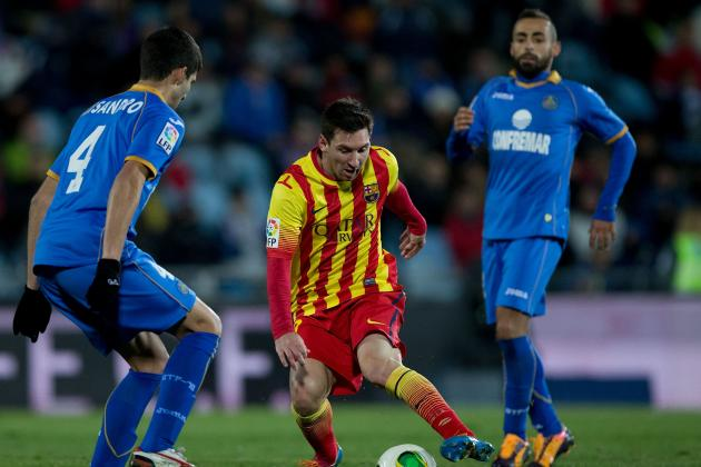 Barcelona vs. Getafe: Date, Time, Live Stream, TV Info and Preview