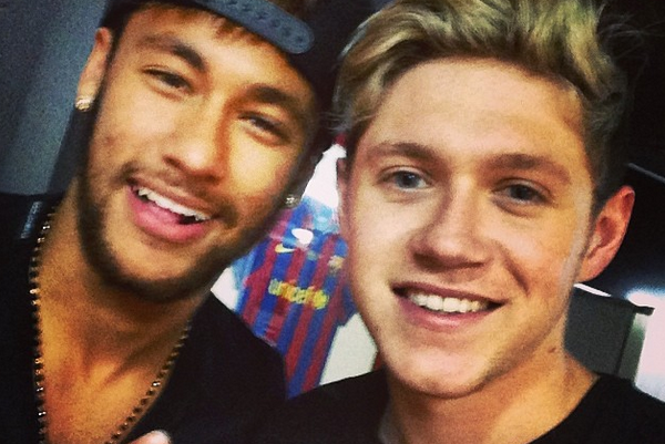 Barcelona and Brazil Star Neymar Wants to Collaborate with One Direction