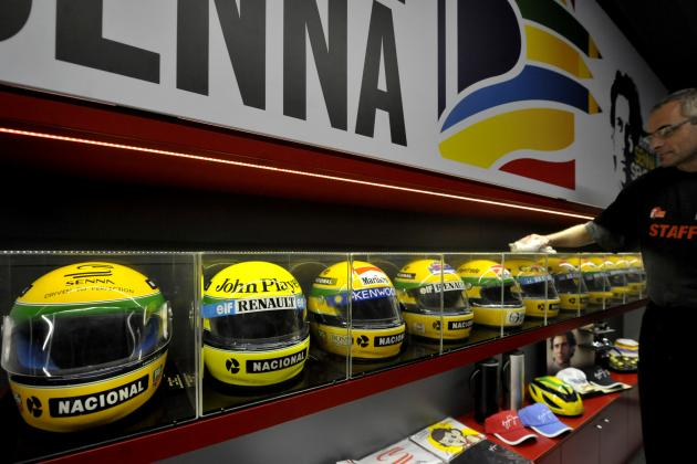 Ayrton Senna's Iconic Helmet Painted on Front of Brazilian Airline Azul's Plane