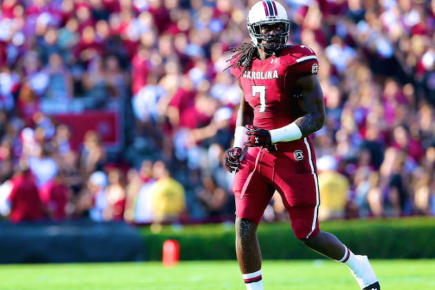 Dan Pompei's Read Option: Is It Worth Trading Up to Draft Jadeveon Clowney?
