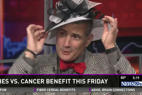 Video: Frank Martin Wears Absurd Hat on TV