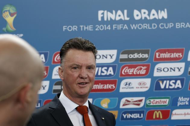 2014 World Cup Tactics Board: Analysing Louis van Gaal's Netherlands