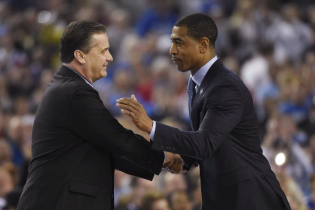 Report: Lakers Want 'Splash' with Next Coach, Target John Calipari, Kevin Ollie