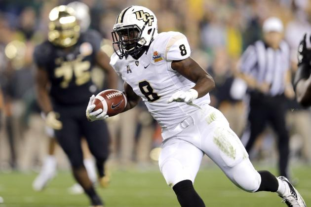 Storm Johnson NFL Draft 2014: Highlights, Scouting Report for Jaguars RB