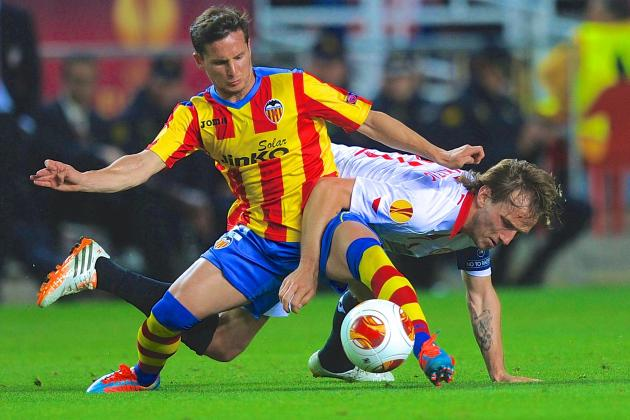 Valencia vs. Sevilla: Europa League Live Score, Highlights, Report
