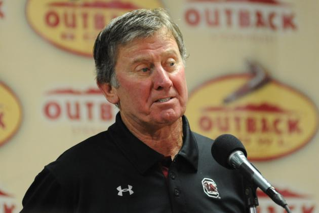 South Carolina's Steve Spurrier Still Relishing His Time Coaching
