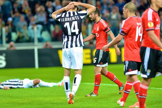 Juventus vs. Benfica: Europa League Live Score, Highlights, Report