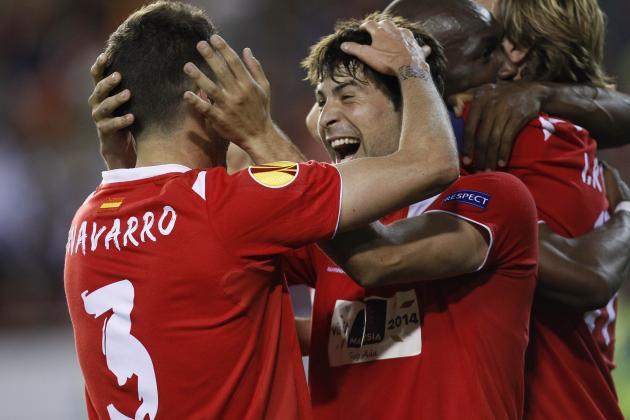 Valencia vs. Sevilla: Live Player Ratings