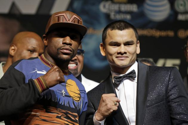 Mayweather vs. Maidana Odds: Latest Betting Lines for Money vs. El Chino