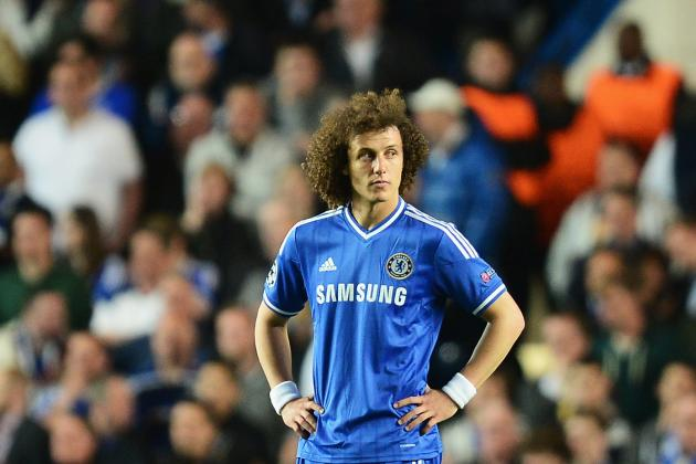 Luiz: No Trophy for Chelsea Will Be Disappointing