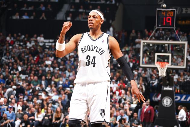 Paul Pierce Predicts Nets-Raptors Series Will Go 7 Games 'Without a Doubt'