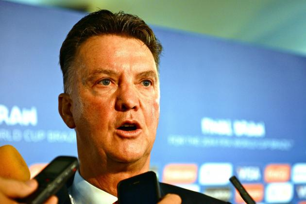 2014 World Cup Tactics Board: Analysing Louis van Gaal's Netherlands