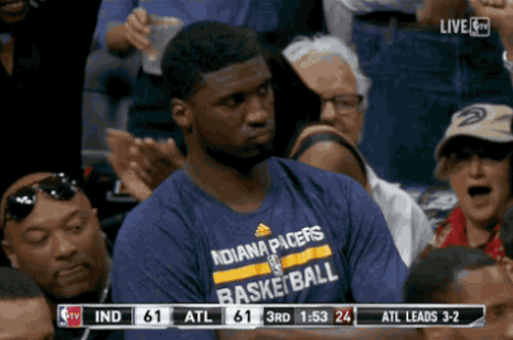 Roy Hibbert Not Happy About Riding Pacers Bench