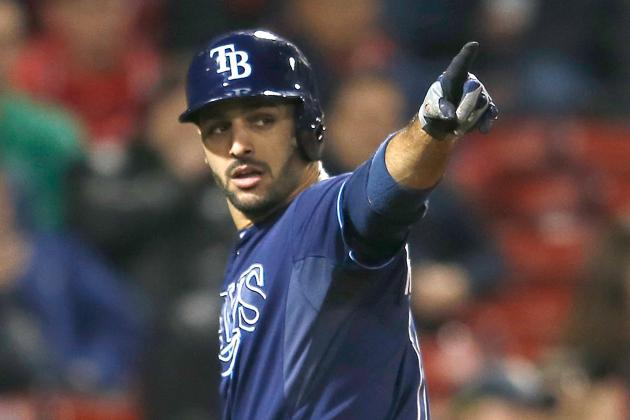 Rays Edge Red Sox in 1st Game of Twinbill