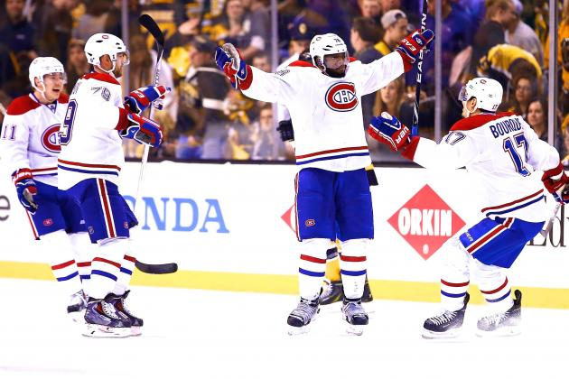 Canadiens vs. Bruins: Game 1 Score and Twitter Reaction from 2014 NHL Playoffs