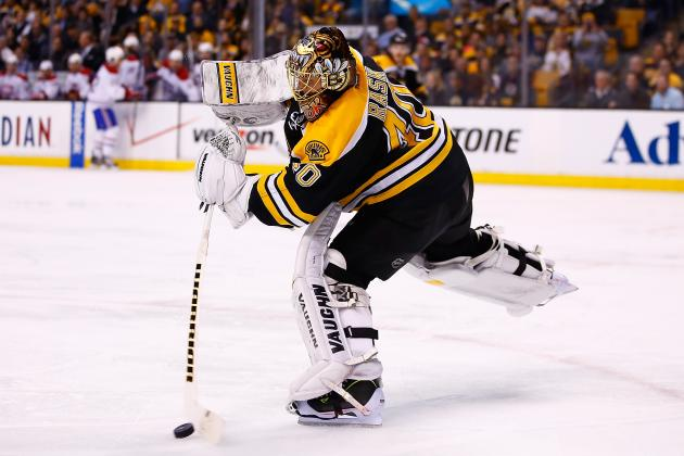 Rask on Game 1 Loss: 'I Was [Expletive] Tonight'