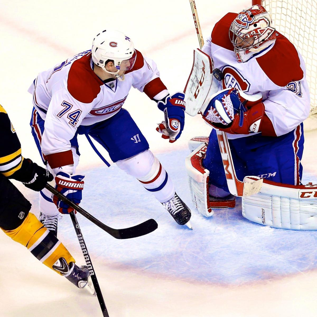 Clutch Carey Price The Difference As Habs Edge Bruins In