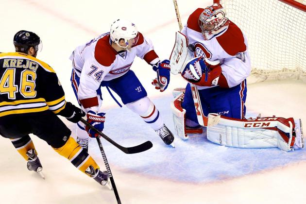 Clutch Carey Price the Difference as Habs Edge Bruins in 2OT Thriller