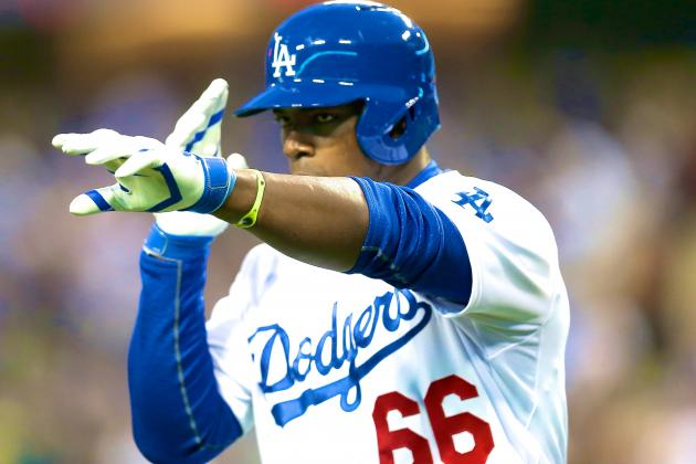 Red-Hot Yasiel Puig Looking Even Better in Sophomore Season