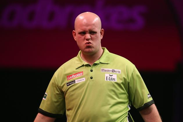Premier League Darts 2014 Results: Scores, Standings, Analysis from Birmingham
