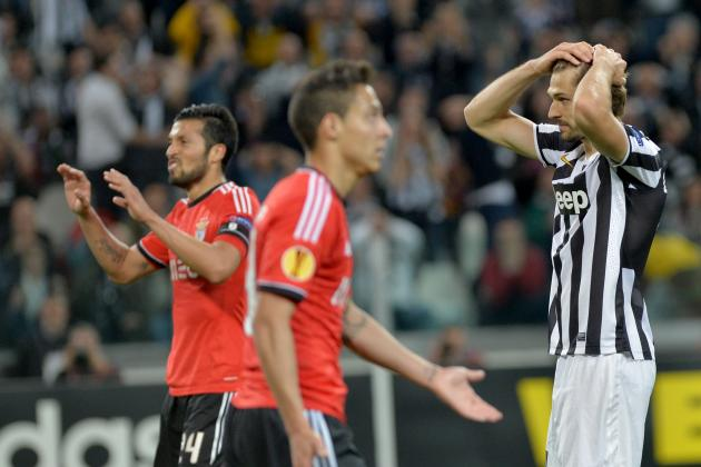 Juventus vs. Benfica: Lessons to Be Learned for Antonio Conte's Men
