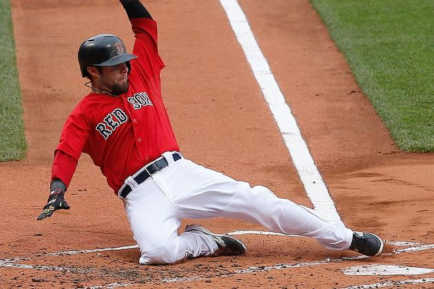 Feet-First Slide by Pedroia Costly Thursday, Beneficial in Big Picture
