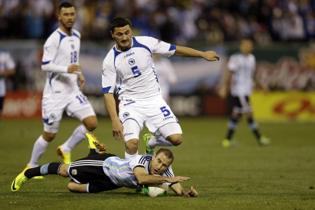 Why Sead Kolasinac Will Be Bosnia-Herzegovina's Surprise Weapon at the World Cup
