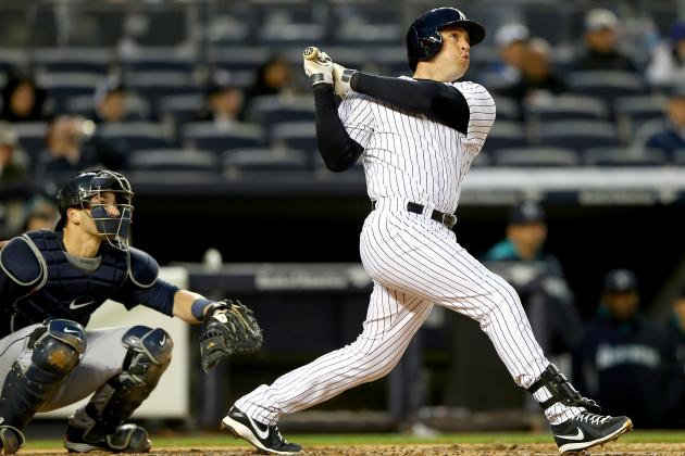 Yankees' Mark Teixeira Approaching 350 Career Home Runs