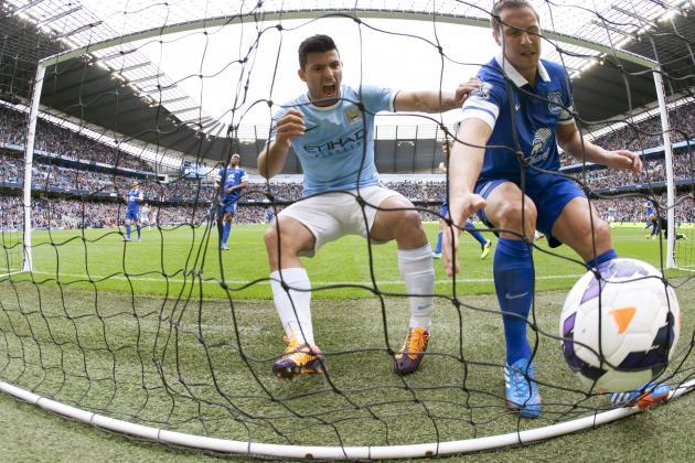 Everton Hoodoo Offers Fresh Threat to Manchester City's Premier League Bid