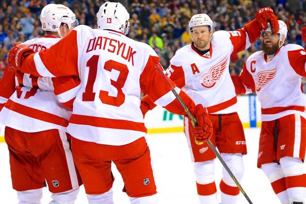 State of the Detroit Red Wings Heading into the 2014-15 NHL Season