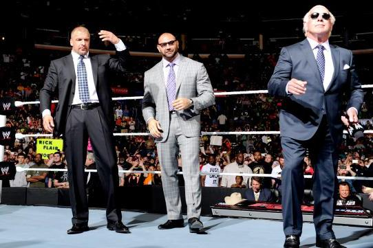 Ric Flair Will Swerve Everyone and Align with Evolution at Extreme Rules
