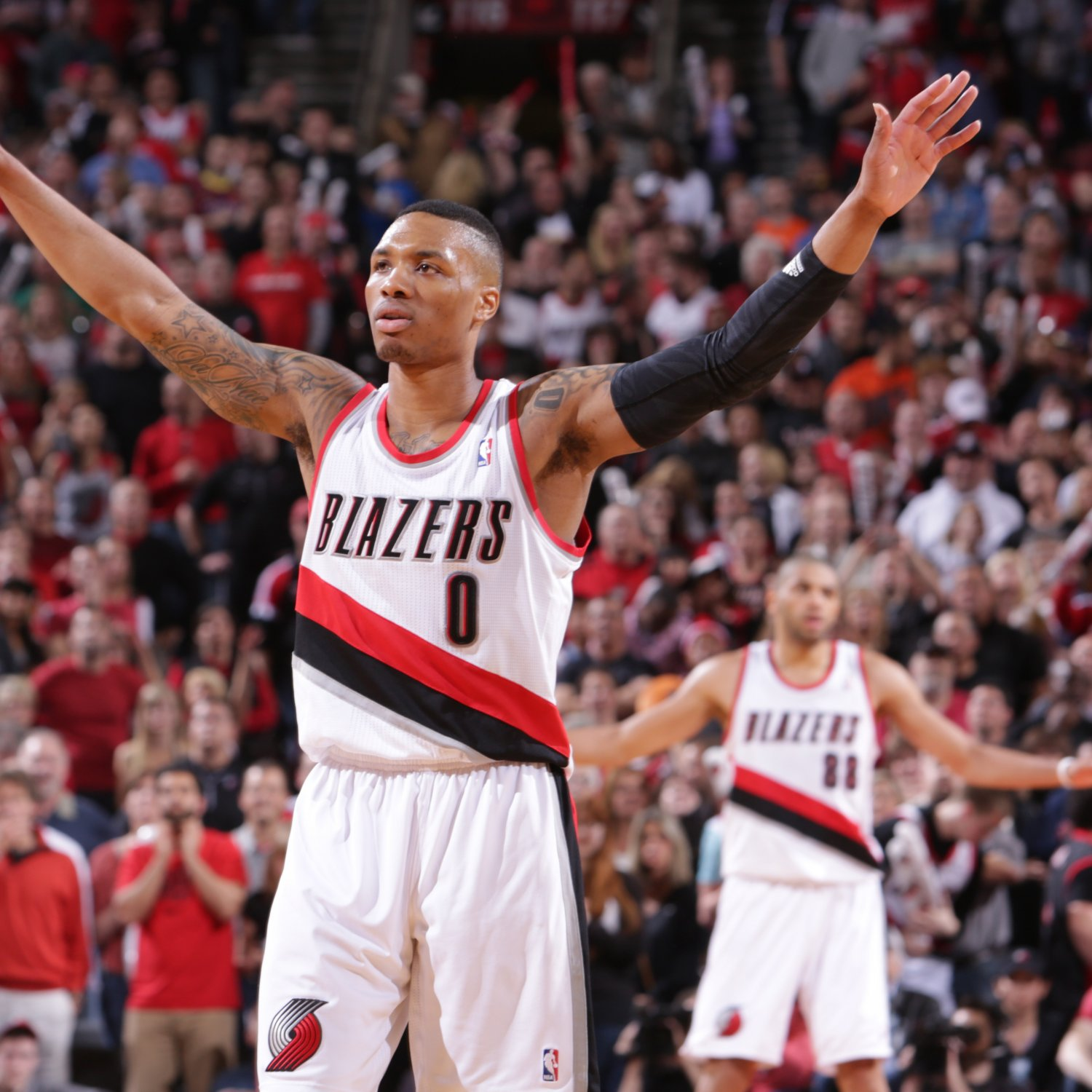 Blazers Game 3: Trail Blazers' Damian Lillard Off To Historic Start In