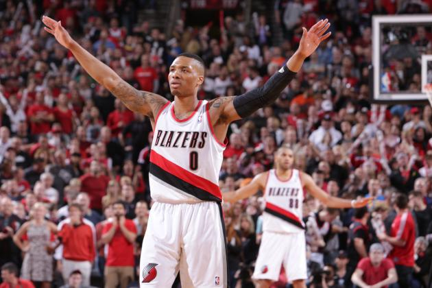 Trail Blazers' Damian Lillard off to Historic Start in Playoff Career