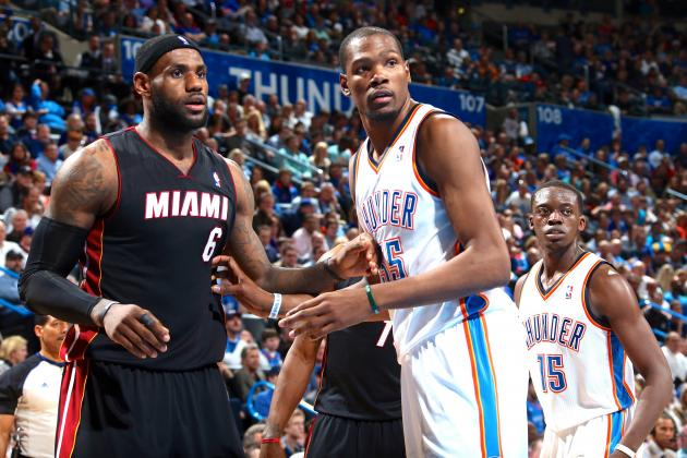 LeBron James: Kevin Durant Has 'Got to Become a Free Agent One Day'