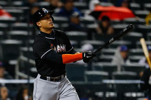 Marlins' Giancarlo Stanton Sets Team April RBI Record