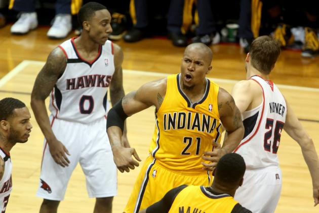 Vintage David West Key to Indiana Pacers Avoiding Epic 1st-Round Meltdown